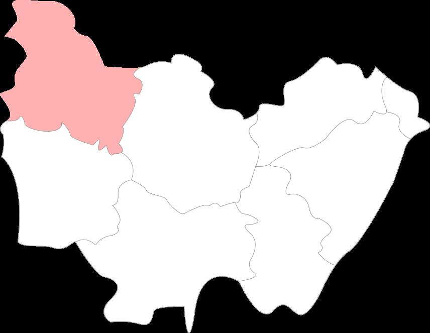 Carte de l'Yonne