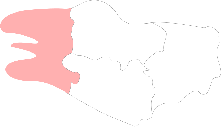 Map Finistère