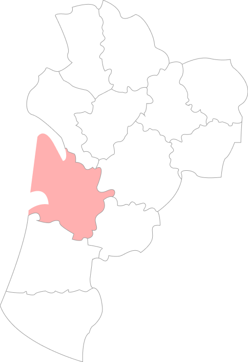 Map Gironde