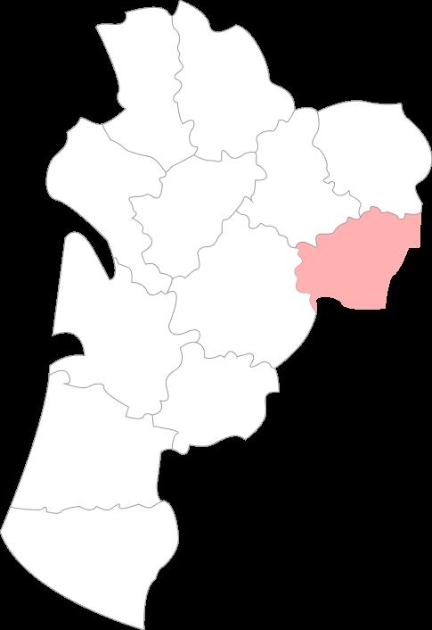Map de la Corrèze
