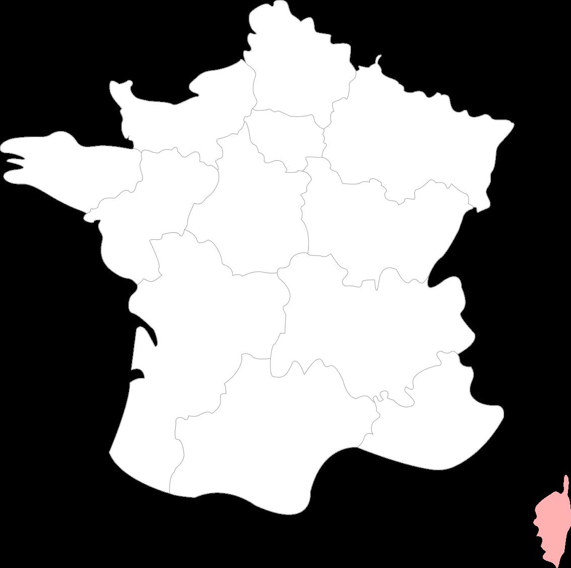 Map de la Corse