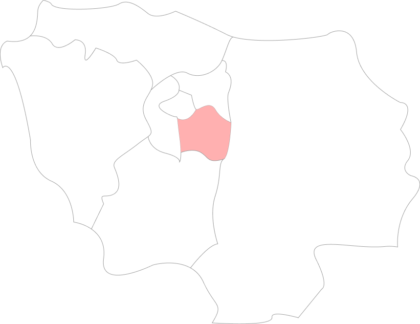 Map Val-De-Marne