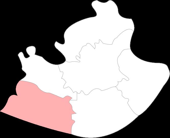 Carte des Bouches du Rhône