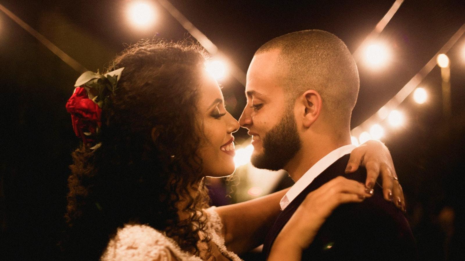 Les deux mariés à Salon-de-Provence