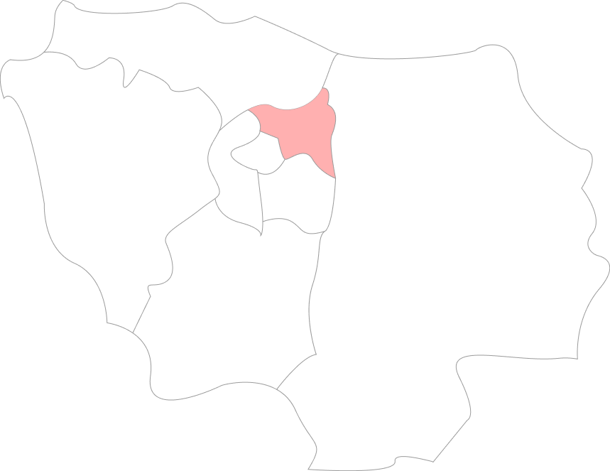 Carte de Seine Saint Denis
