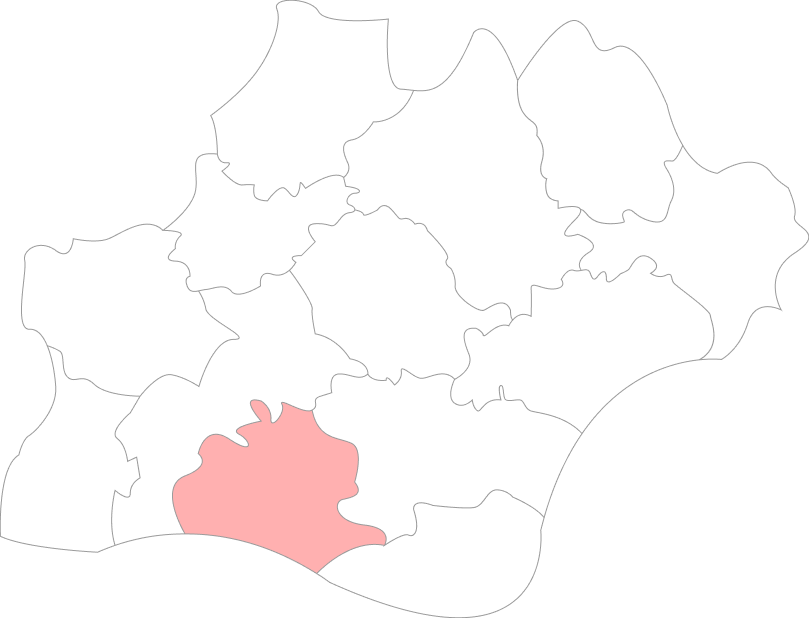 Carte de l'Ariège