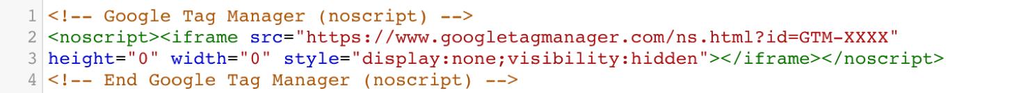 noscript example