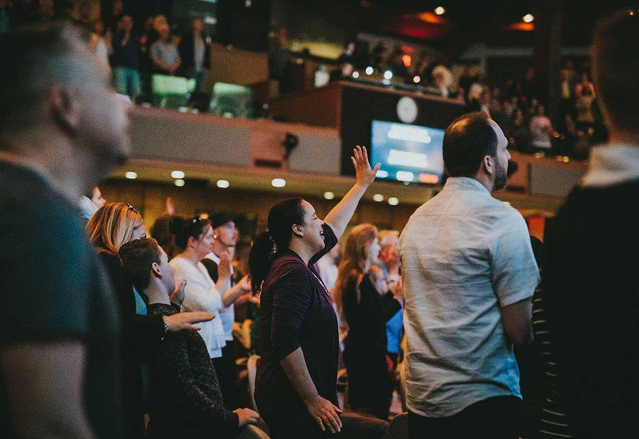 Worshiping at CLA