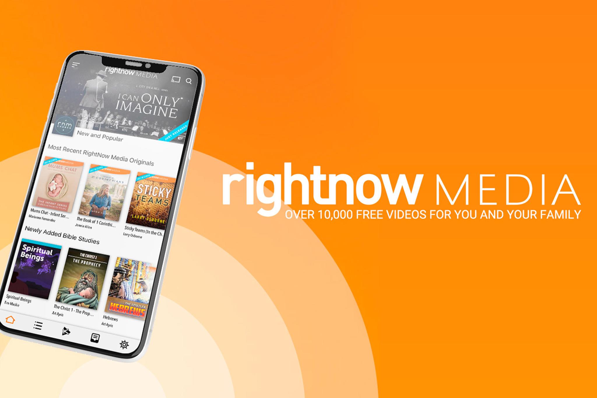 Right now media app