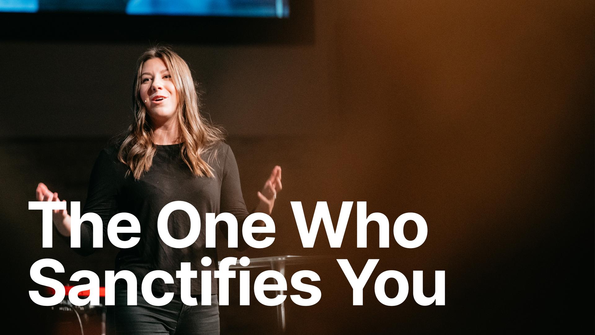 Rachelle Lefebvre preaching