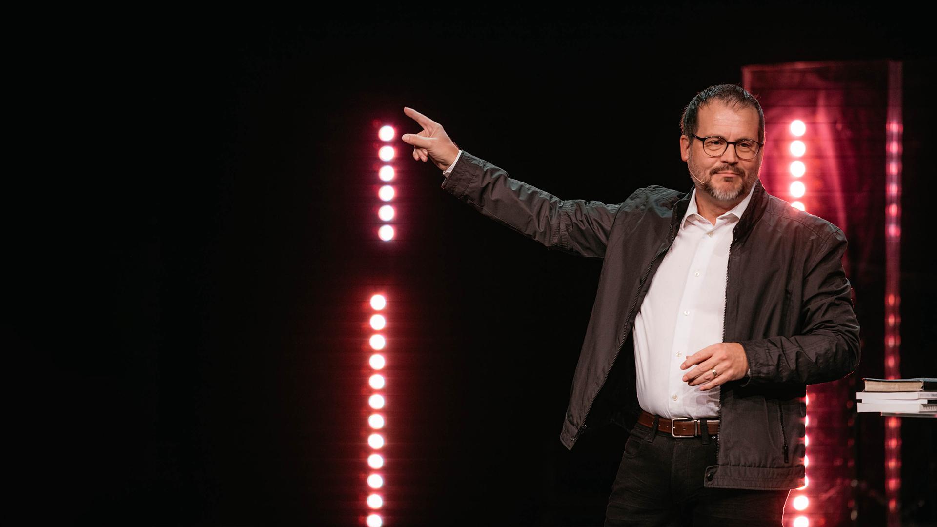 Derrick Hamre Preaching