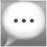 speech emoji