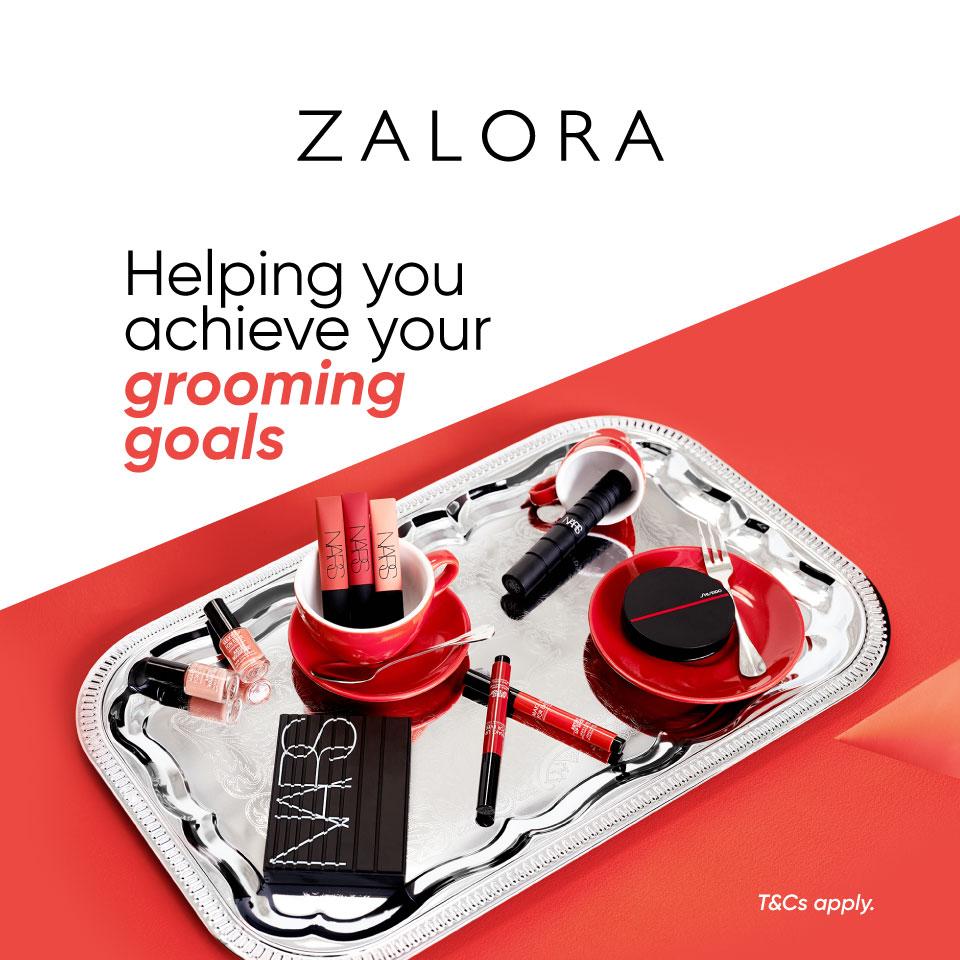 ZALORA Beauty: Get 10% off + 5% ZALORA Cashback