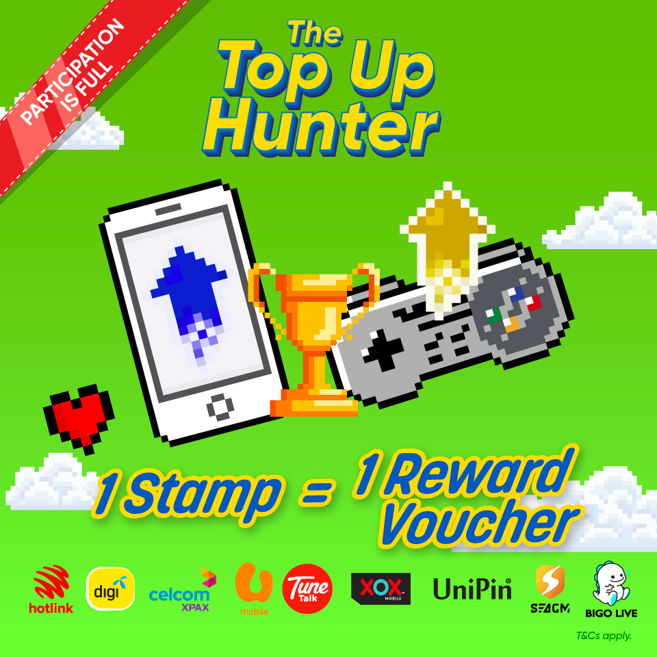 The Top Up Hunter