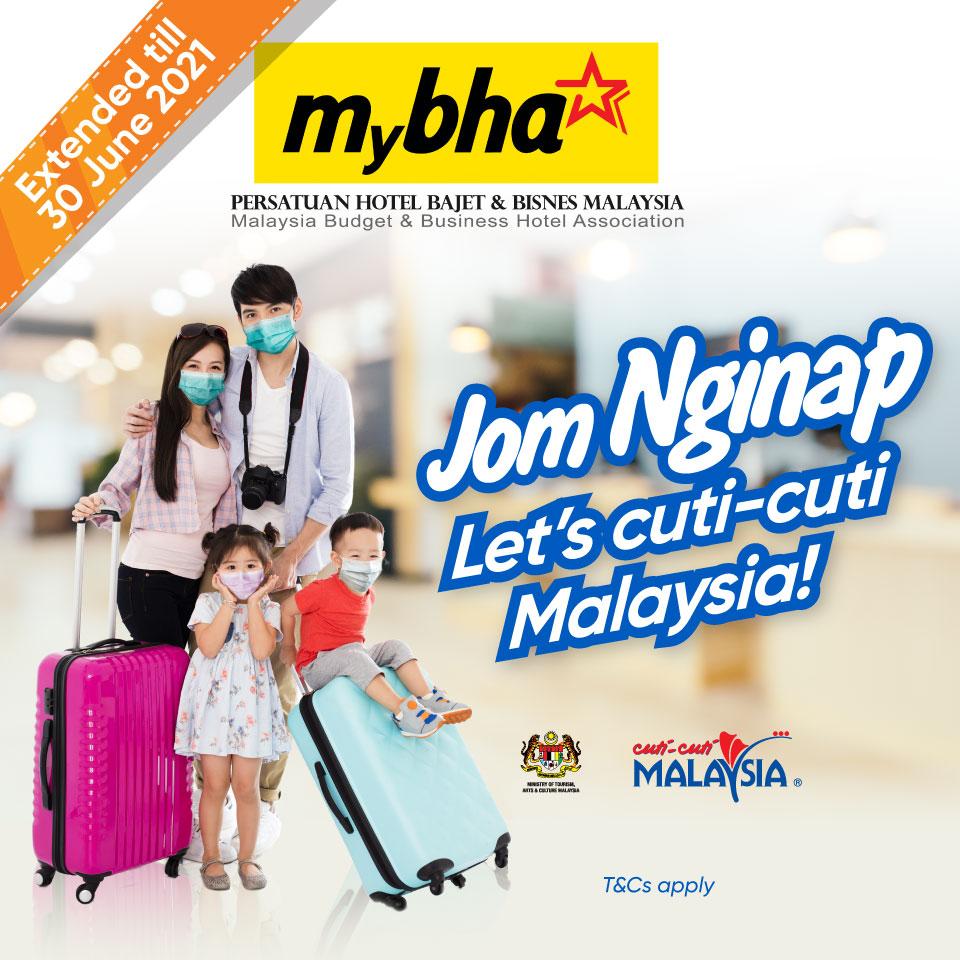 Jom Nginap RM20 Cashback Promotion