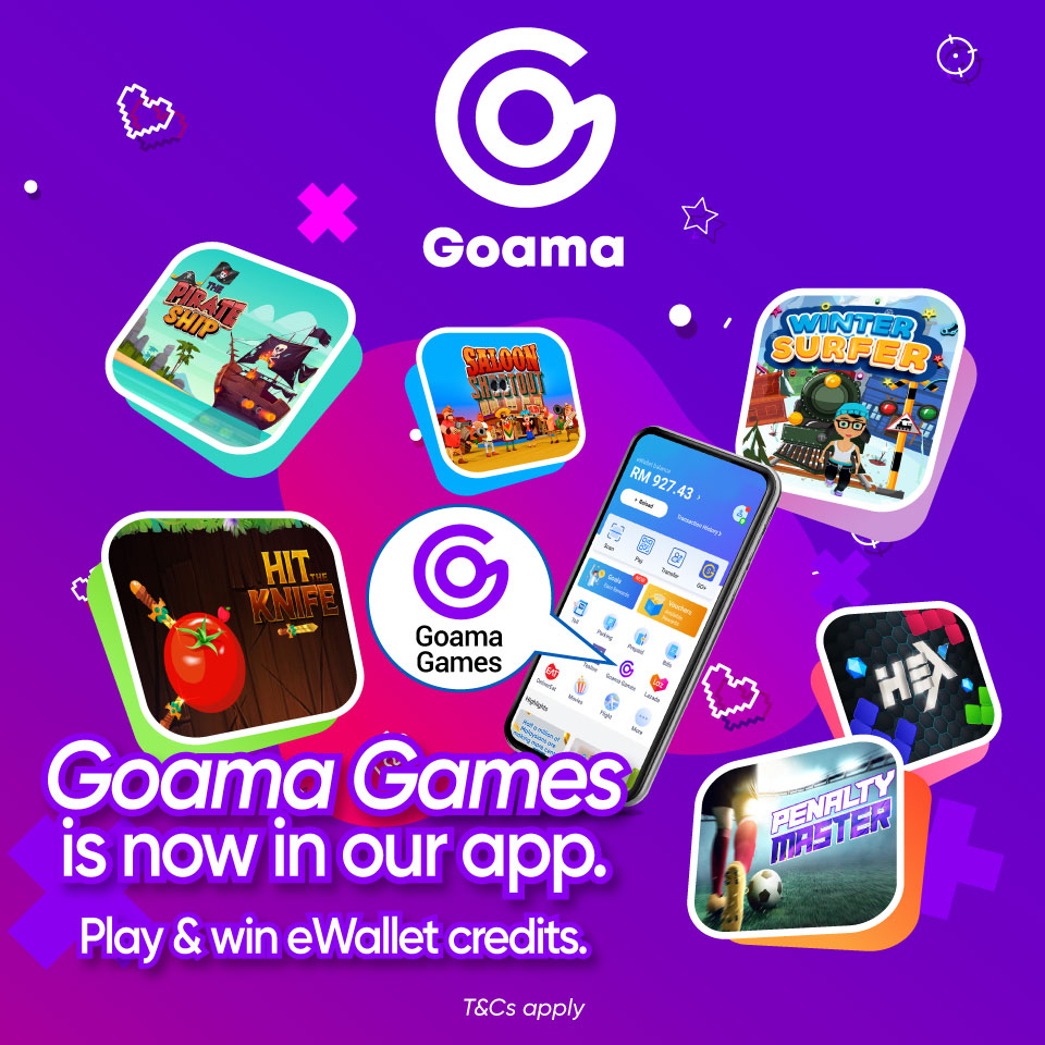 Goama Games is now in our app