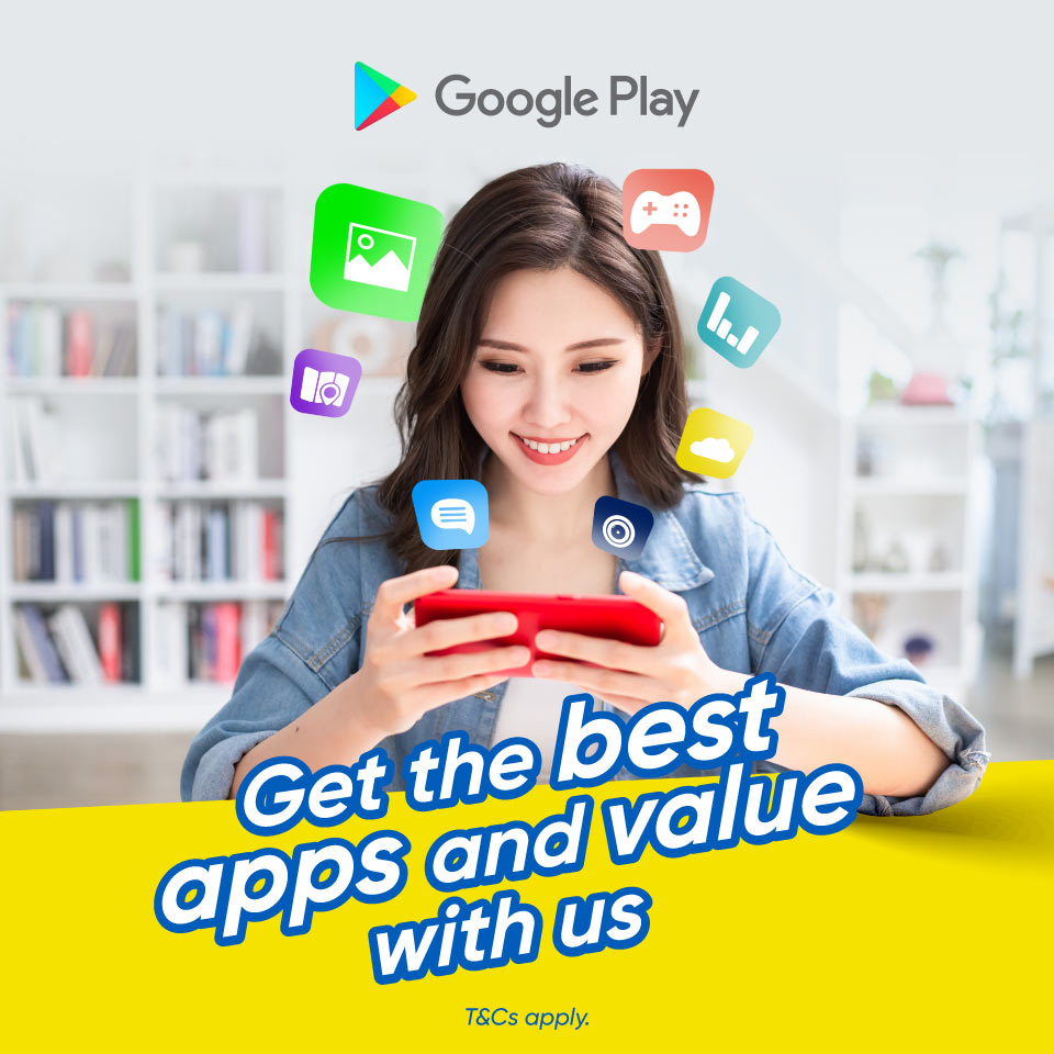 Up to RM5 Cashback on Google Play Purchase