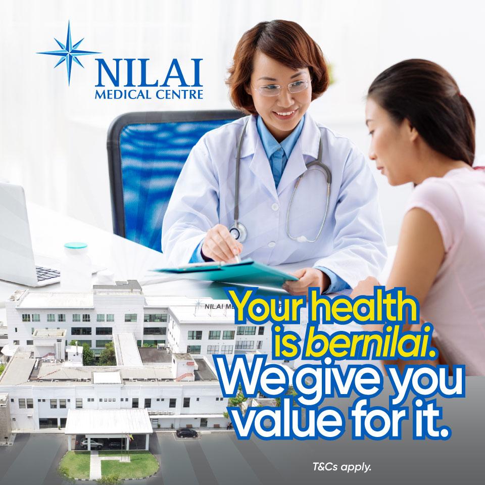 Nilai your health. Stay safe & go cashless