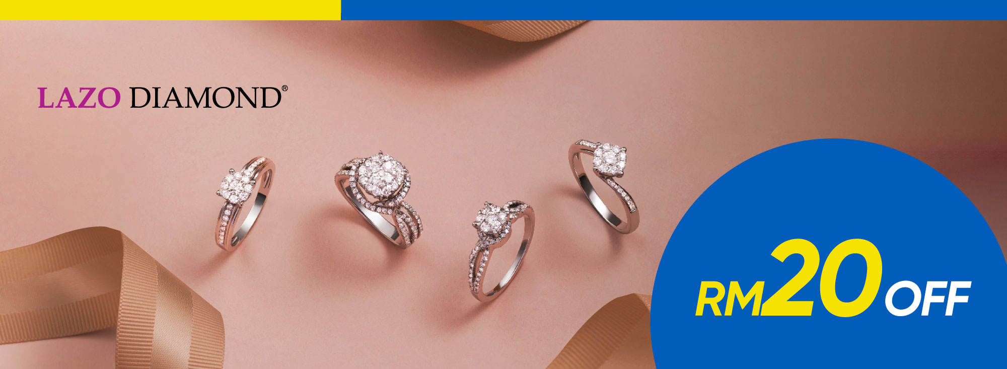 Lazo Diamond up to RM600 Discount Promo