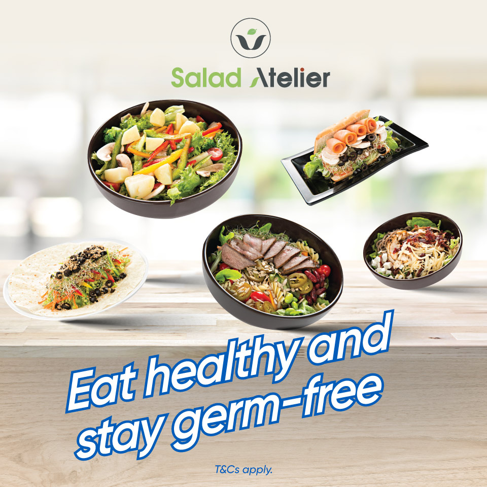 Eat healthy and stay germ-free