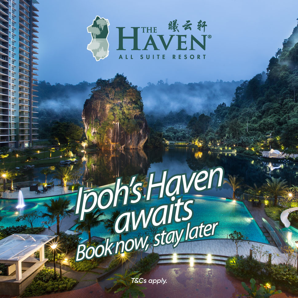 Ipoh's Haven awaits! Book now, stay later