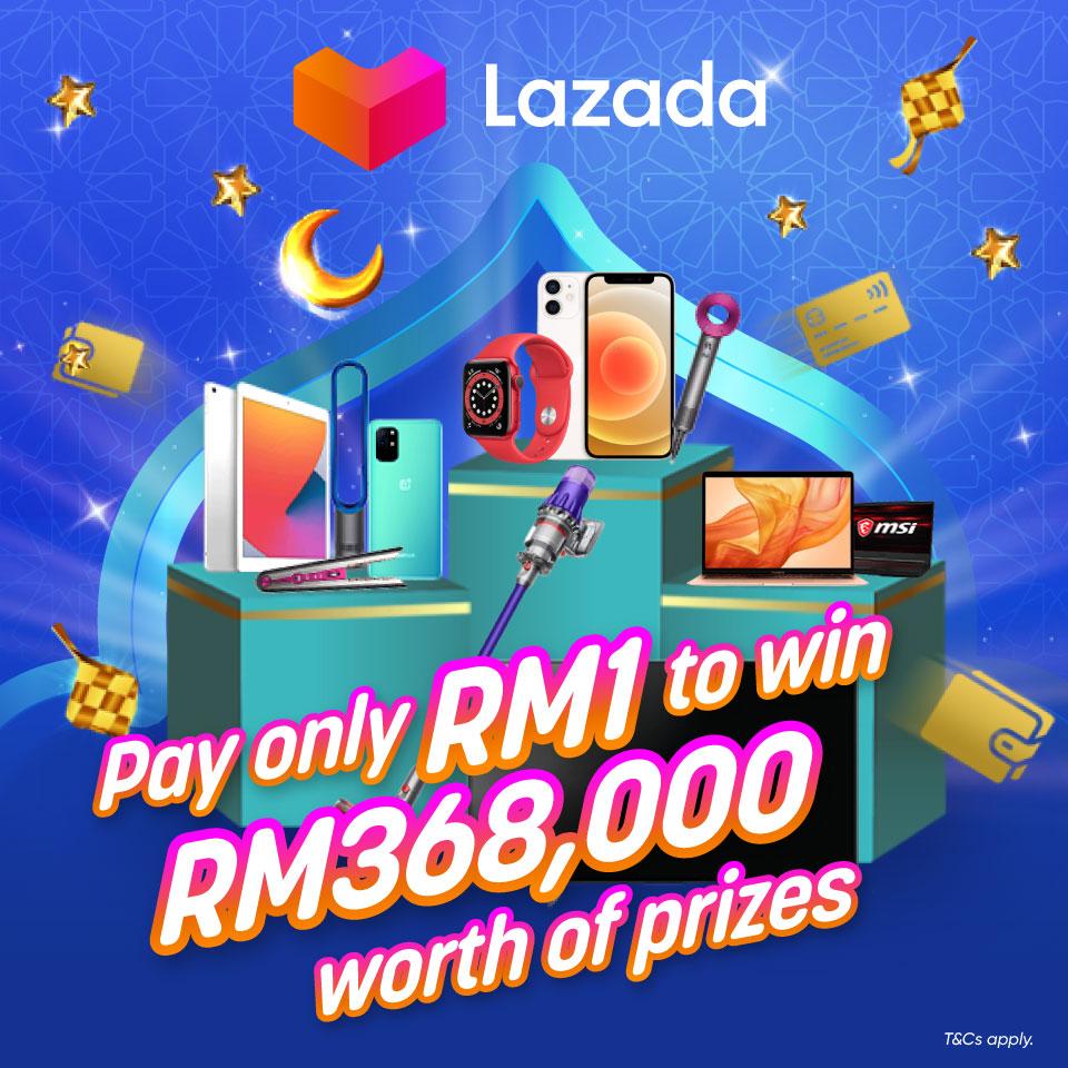 Lazada RM1 game