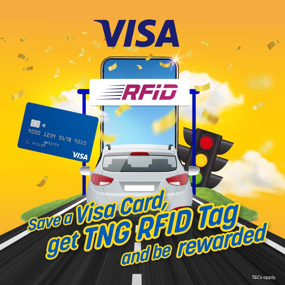 Visa RFID RM10 Cashback