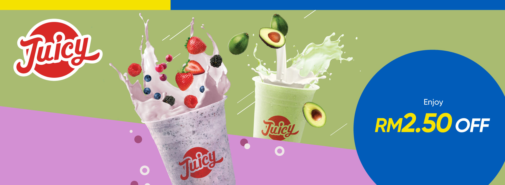 Juicy Fresh Juice Bar Promotion