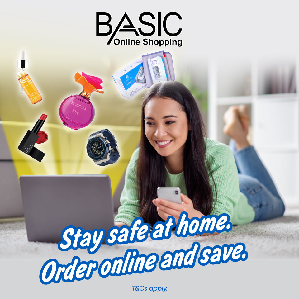 Basic Online Shopping: Get RM10 Off