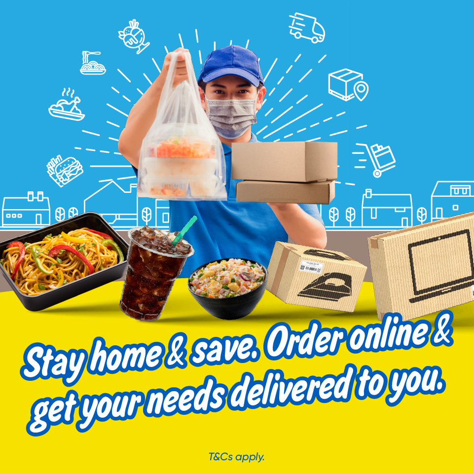 RM5 cashback on your essential deliveries!