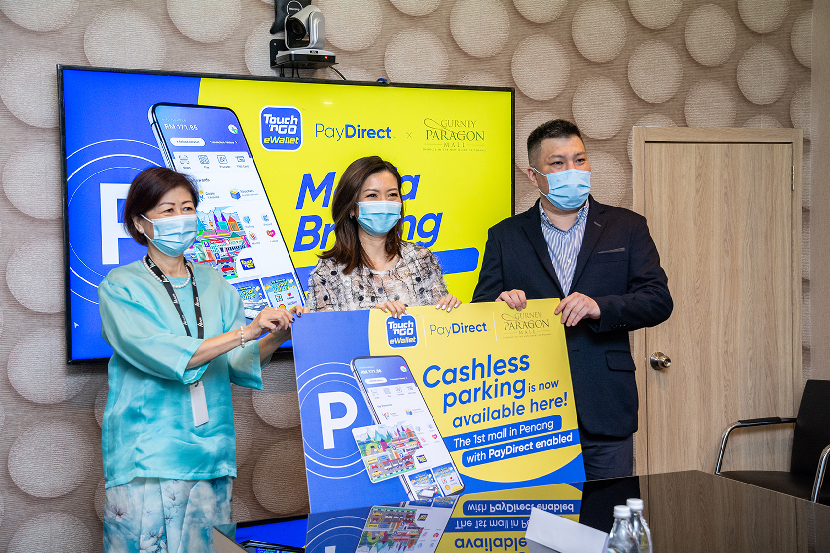 Parking made easier with Touch 'n Go PayDirect at Gurney Paragon Mall