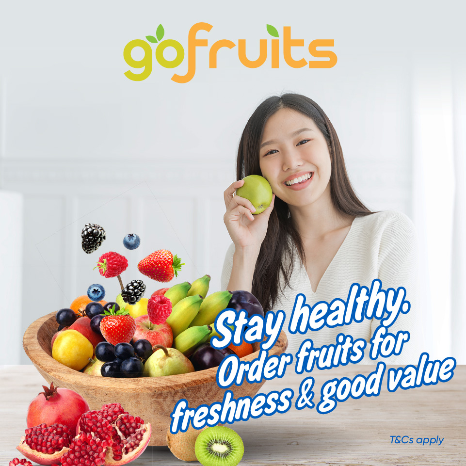 Stay healthy. Order fruits for freshness & good value