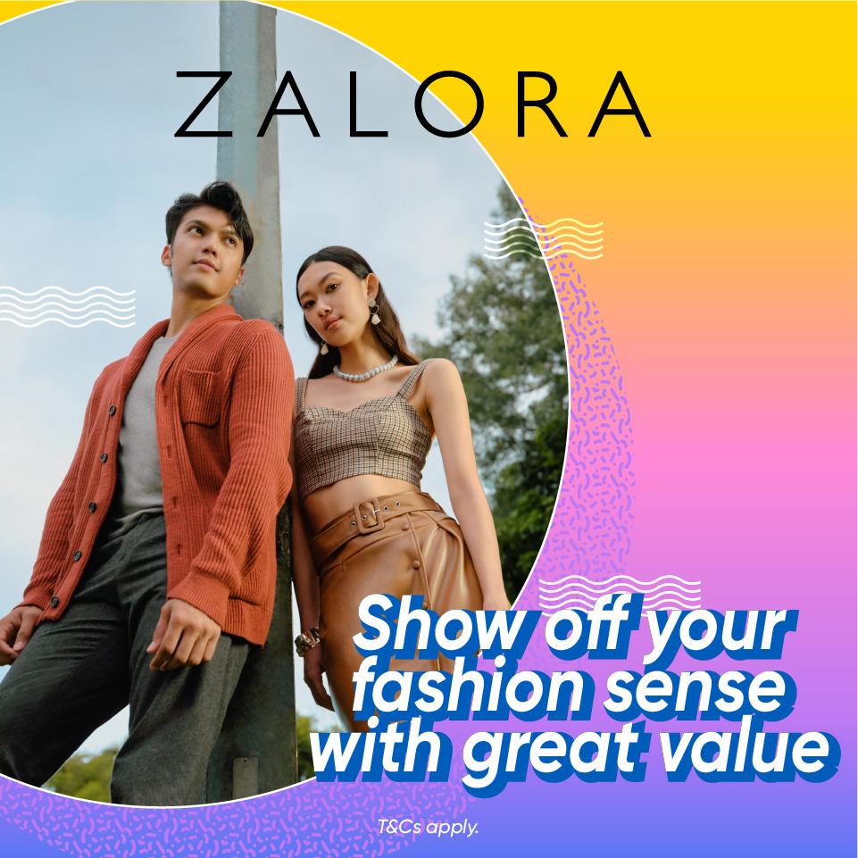ZALORA August Promo: Get RM44 off + 6% Cashback