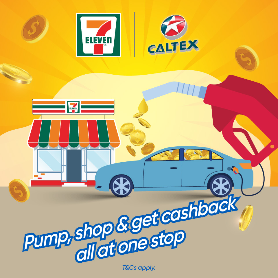 7-Eleven X Caltex RM4 Promotion