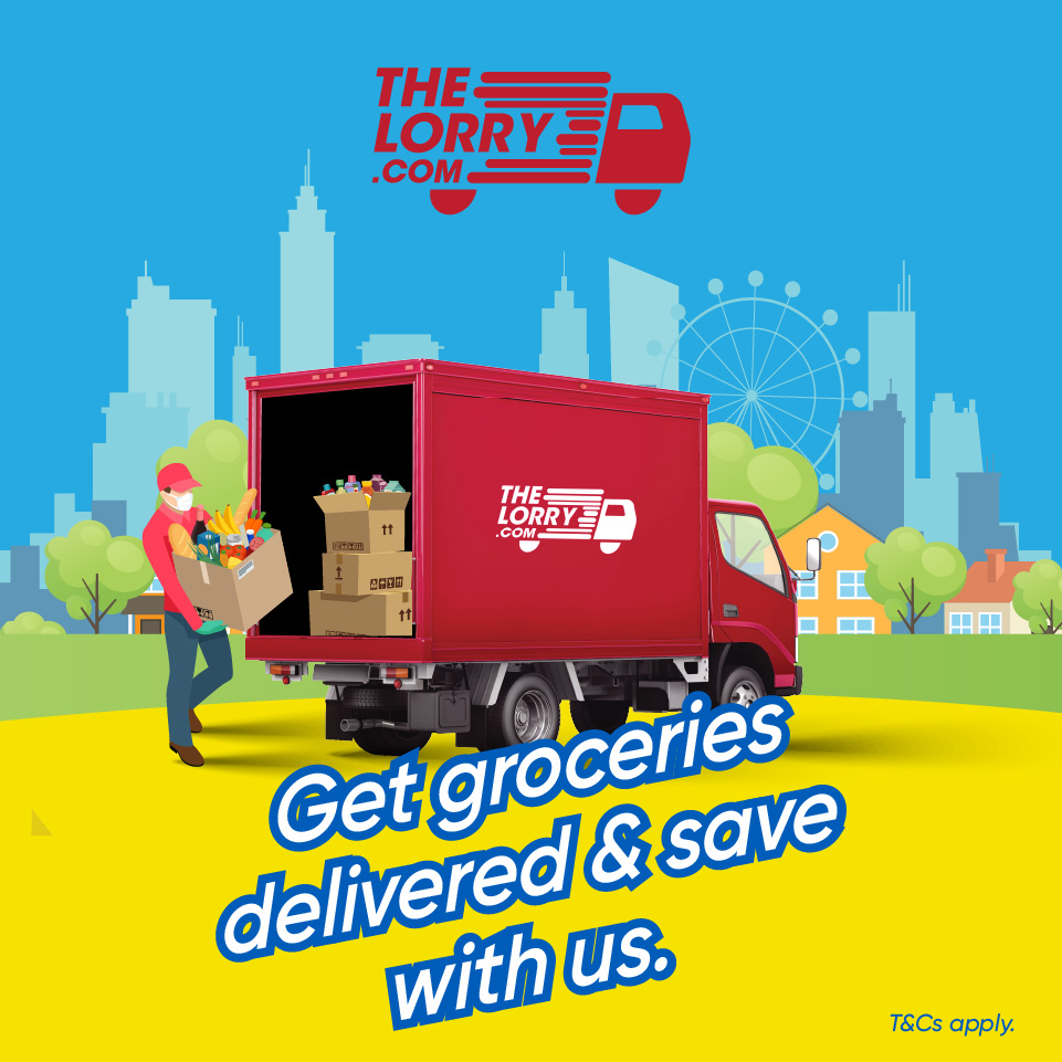 10% discount on grocery ordering services with TheLorry