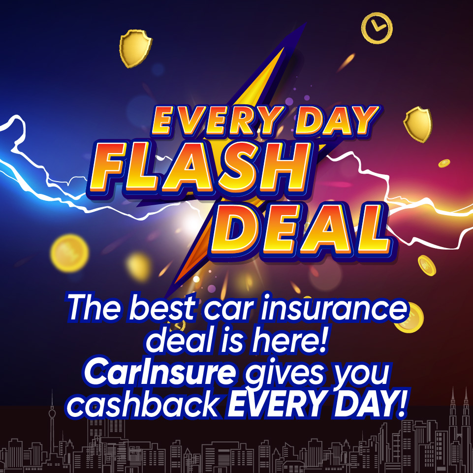 CarInsure EVERY DAY FLASH DEAL!