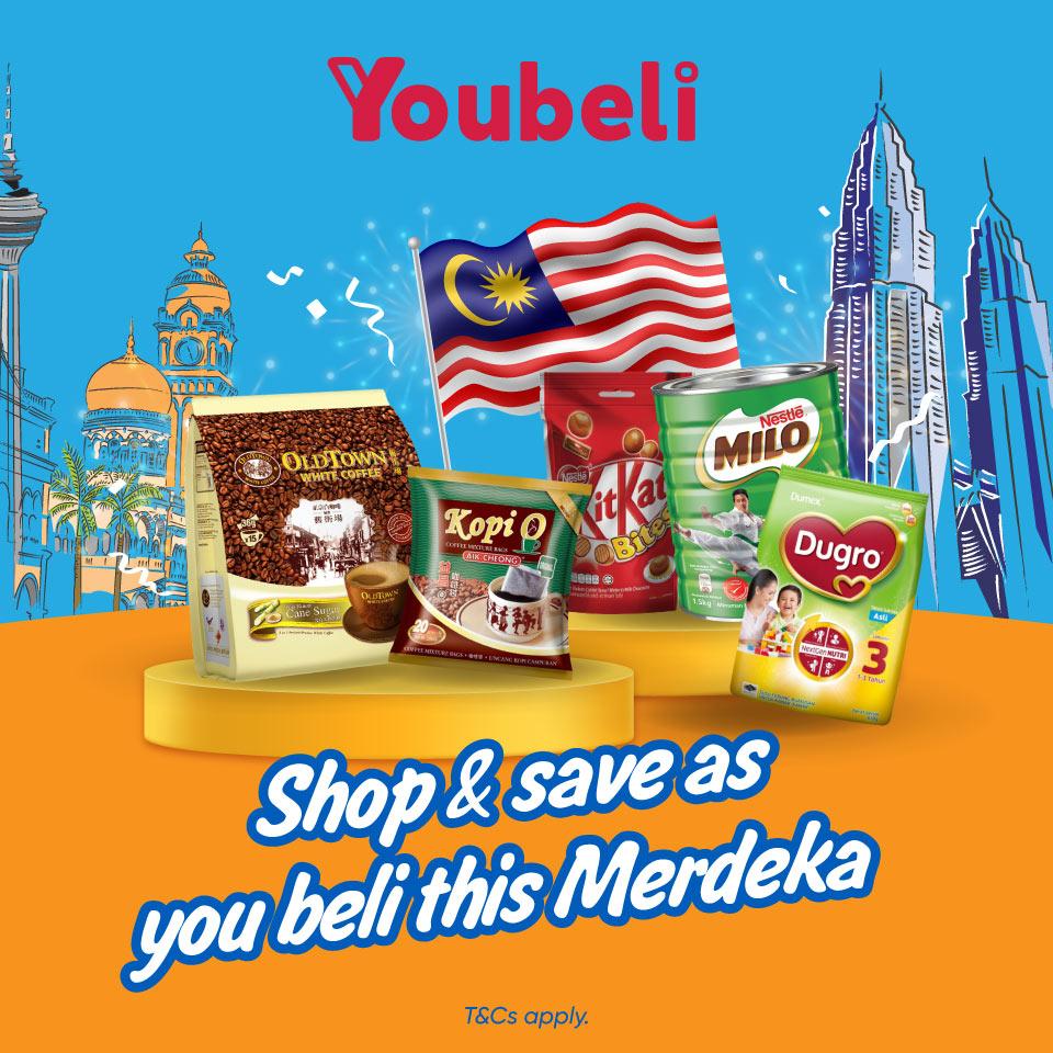 Youbeli: Get RM5 Off