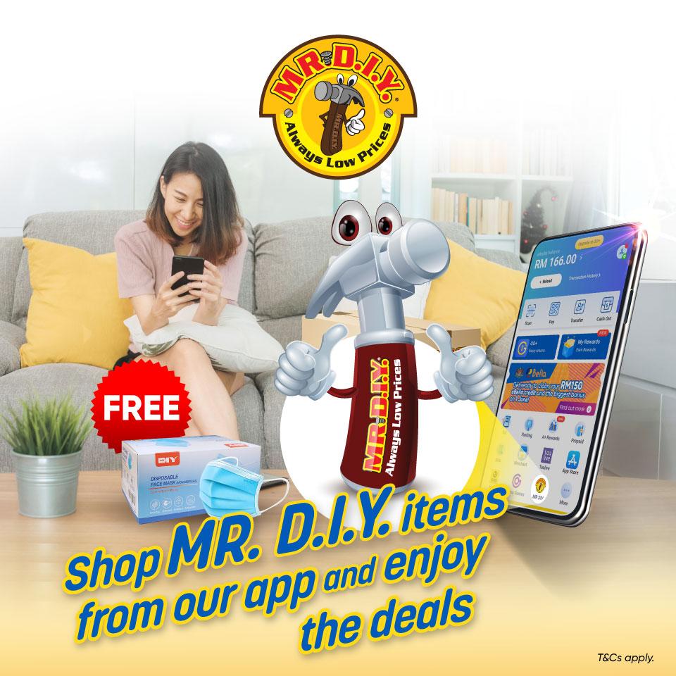 MR. D.I.Y. Mini Program Launch Promotion