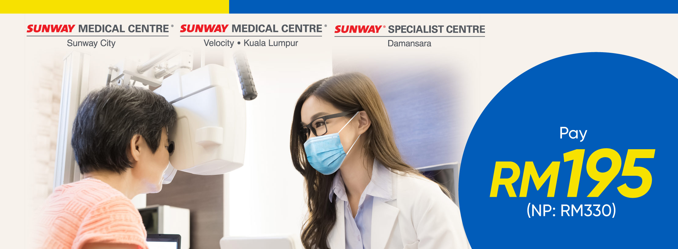 Sunway Healthcare Group August'21 Promotion