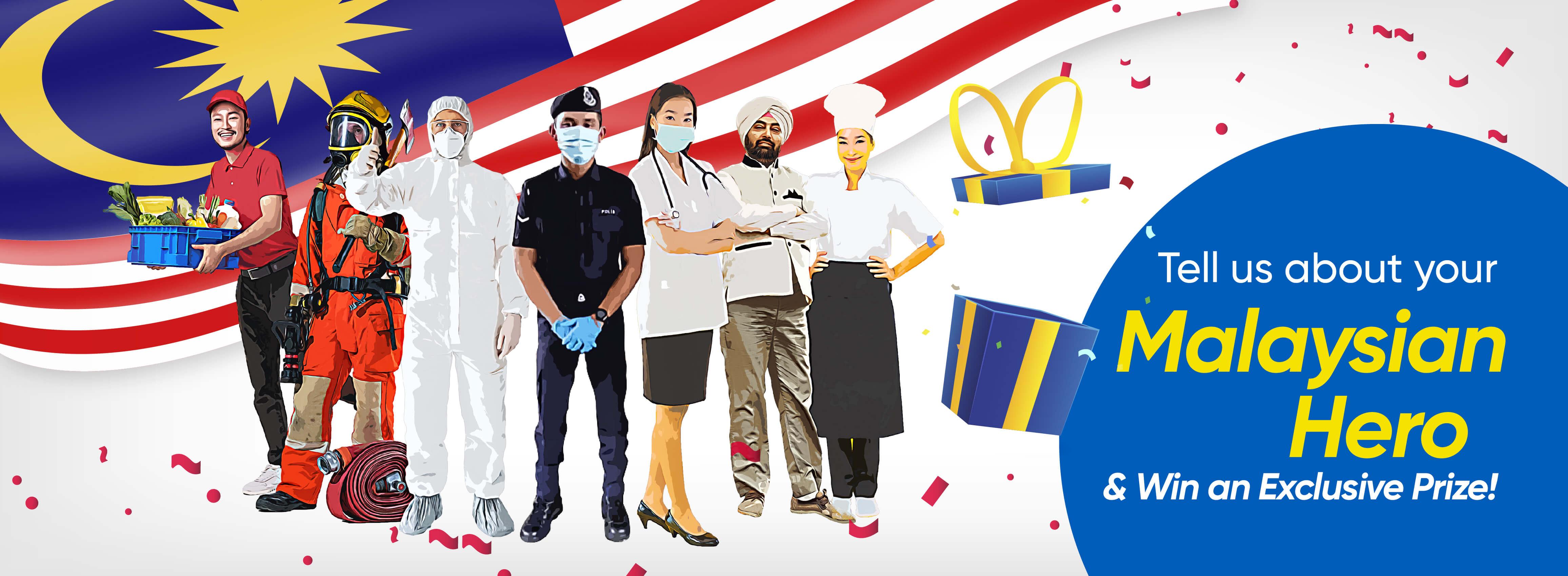 Touch 'n Go Merdeka & Malaysia Day Contest 2021