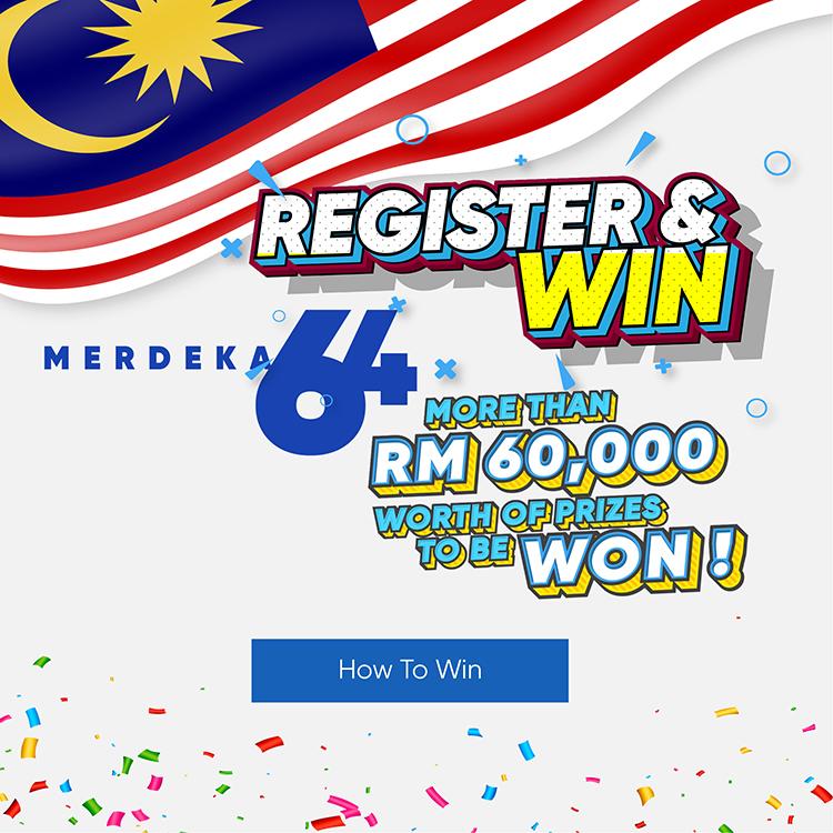 64th Merdeka Campaign - Register & Win