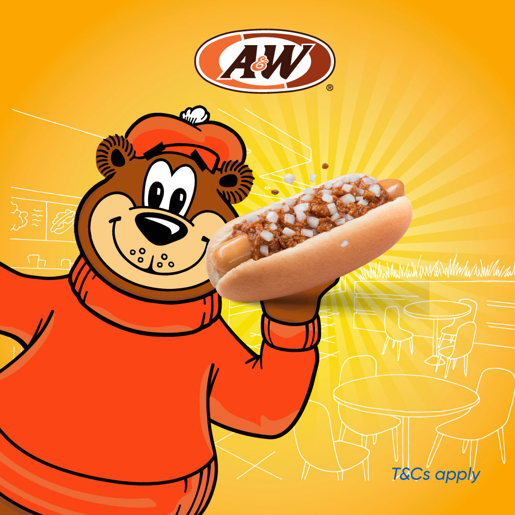 A&W RM5 Chicken Coney Promotion