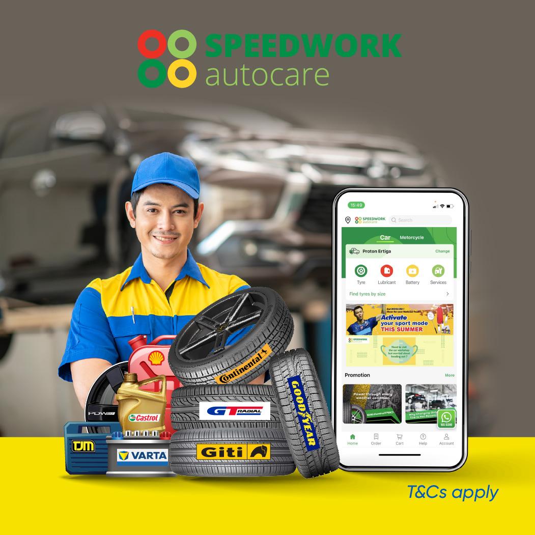 Speedwork Cashback Promotion
