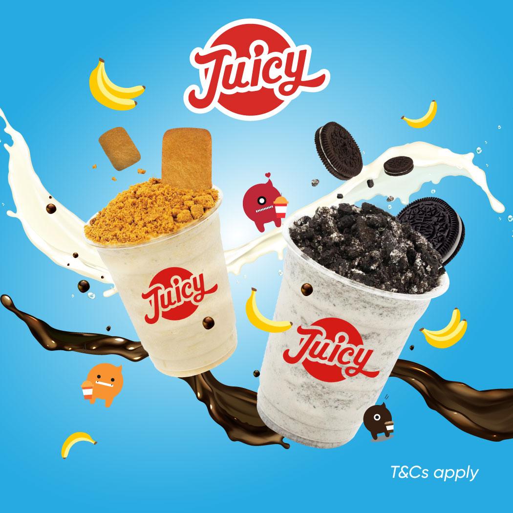 Juicy Fresh Juice Bar September'21 Promotion