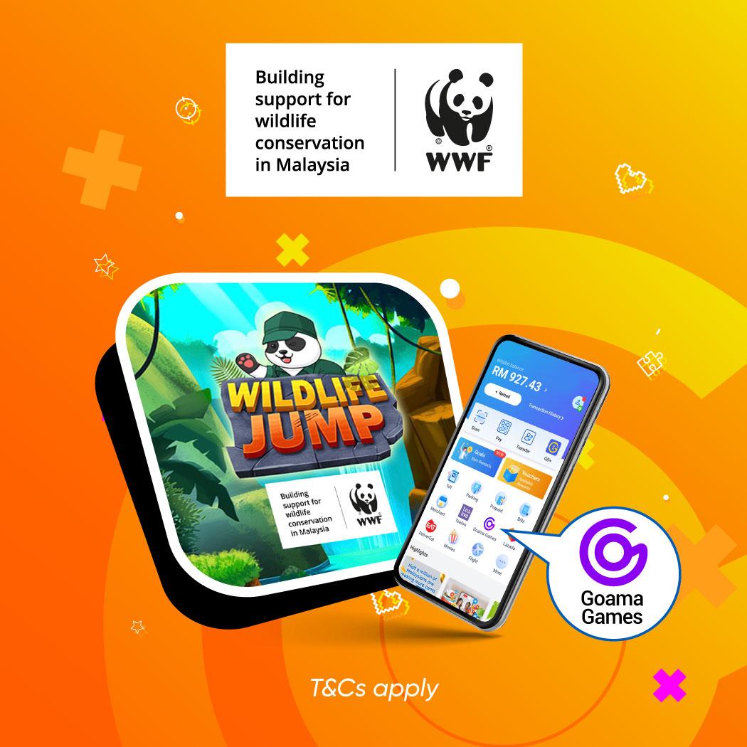 Goama MP x WWF-Malaysia: Wildlife Jump Game