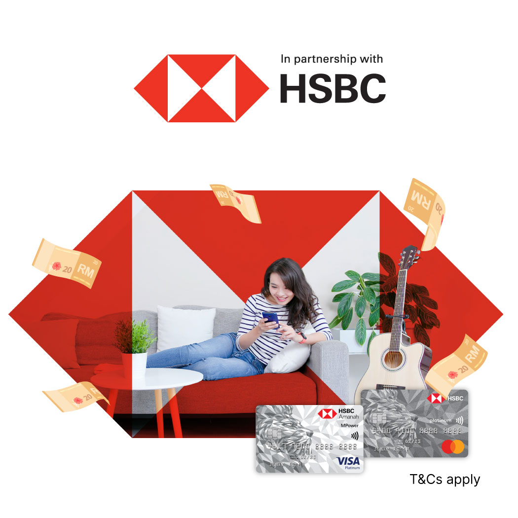 HSBC RM20 Cashback with TNG eWallet