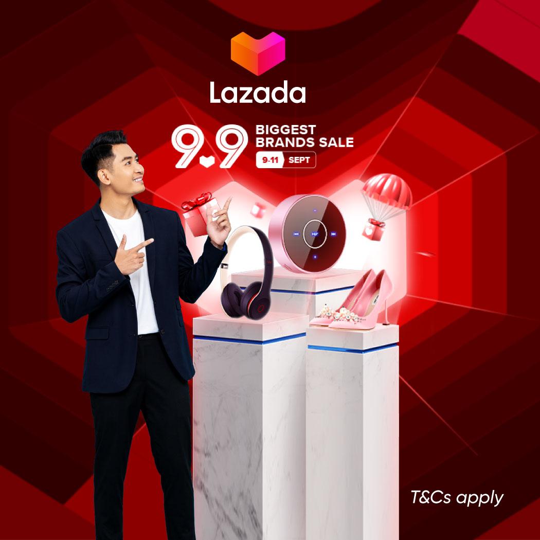 LAZADA 9.9 Promotion: Get RM5 off