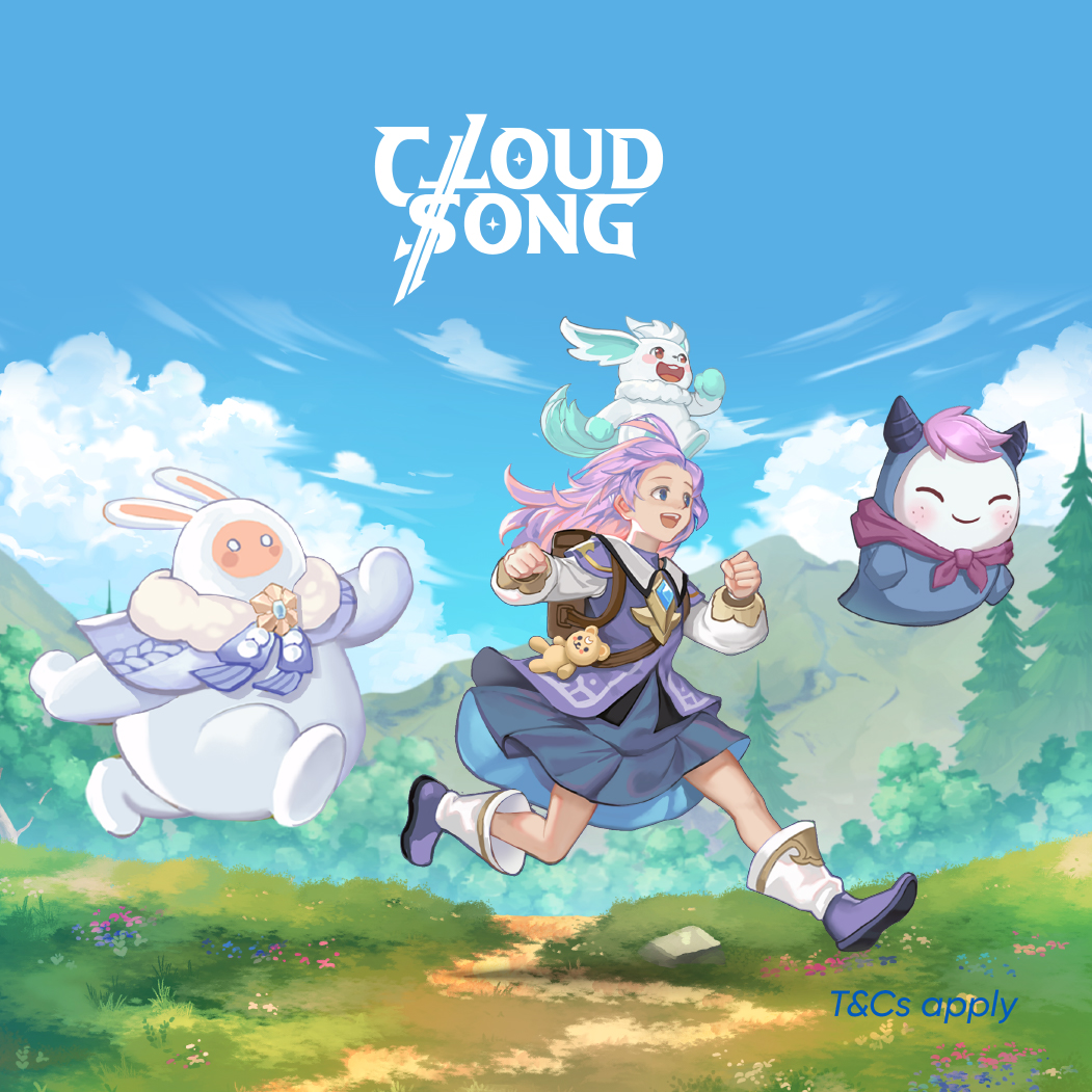 Cloud Song: Saga of Skywalkers Launch Promotion