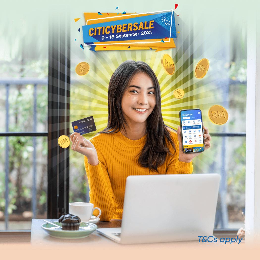 CitiBank Reload & Get Cashback
