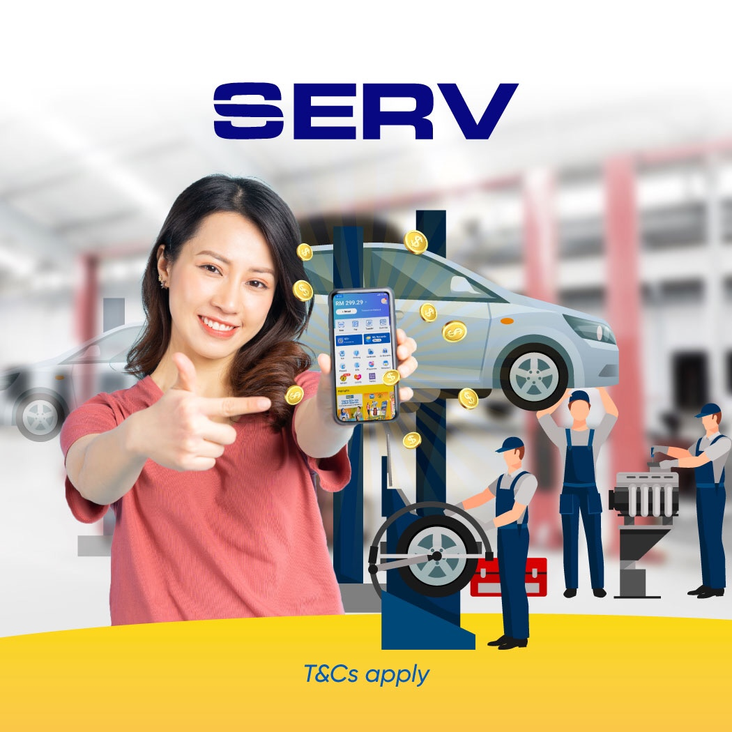 SERV RM15 Cashback Campaign